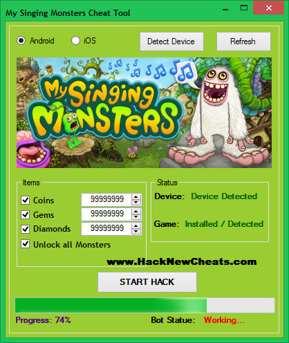 Image Result For Download My Singing Monster Hack For Android No Survey